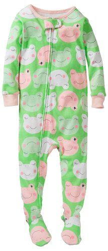 fb8d7e43b Carter s Baby Girls  1 Piece Cotton Printed Footie (Baby) for only ...
