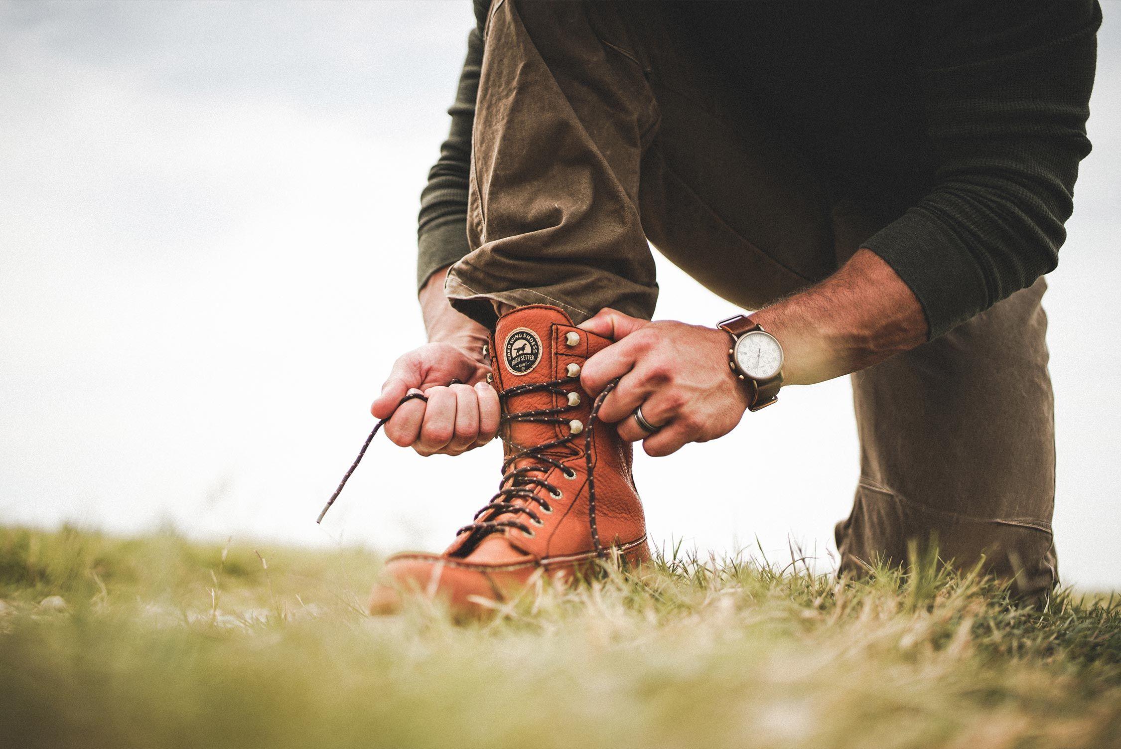 a3edfc3b06 Irish Setter Wingshooter 894 Boots on Modern Huntsman. Men s outdoor  fashion. Top hunting gear.