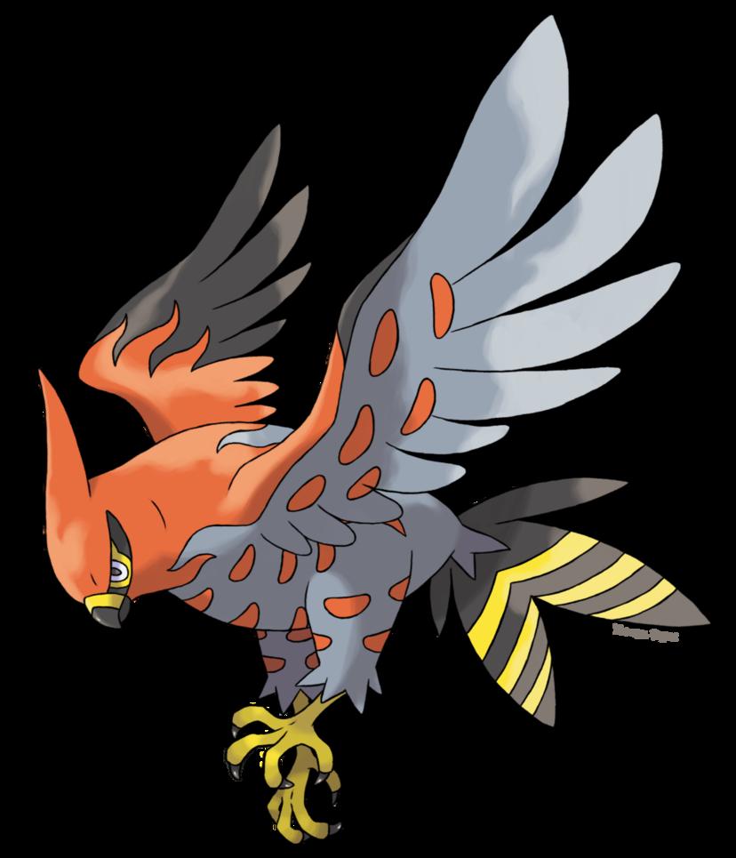 Talonflame Flambusard By Alounea On Deviantart Pokemon Bird Pokemon Pokemon Teams