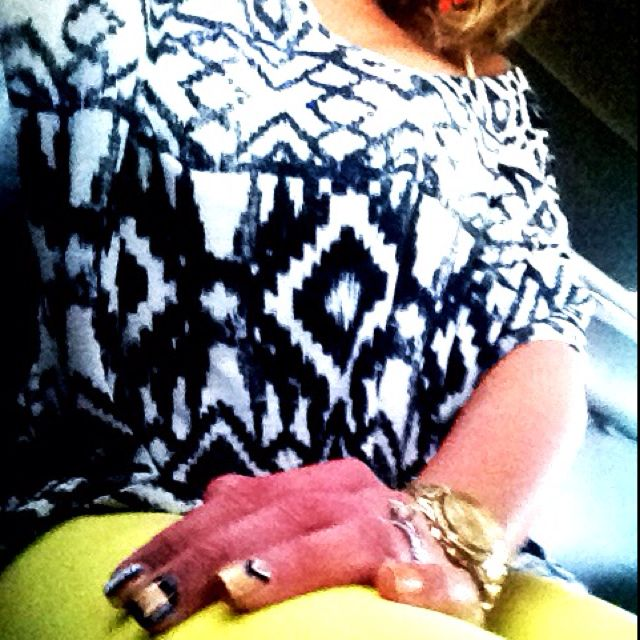 Yellow jeans:)