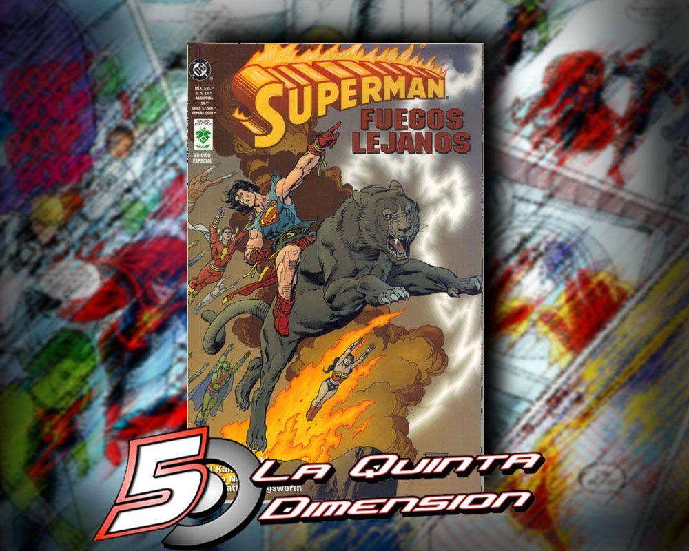 SUPERMAN FUEGOS LEJANOS. Historia imaginaria en un futuro apocalíptico. $ 80.00 Para más información, contáctanos en http://www.facebook.com/la5aDimension