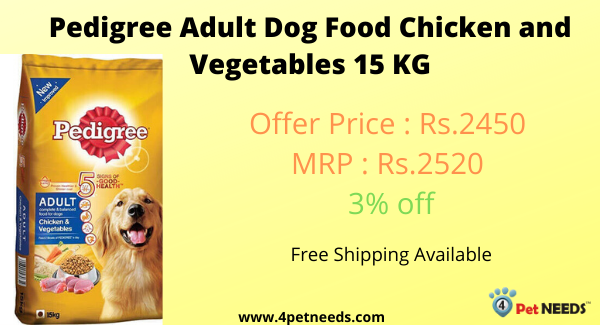 Buy Pedigree Adult Dog Food Chicken And Vegetables 15 Kg Online On 4petneeds With Free Shipping And Cod 4petneeds Pedigree Pedigreeadu In 2020 Dog Food Recipes Chicken Vegetables Pedigree Dog Food