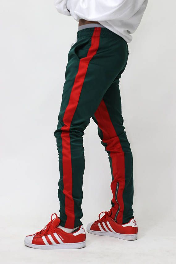 ICONIC Green Red Tracksuit  7db13e8940a7a