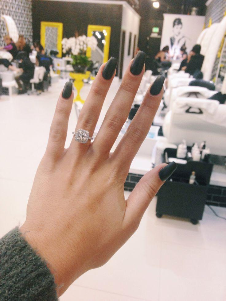 press on nails - Google Search | nails | Pinterest | Matte black ...