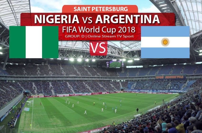 Watch Nigeria Vs Argentina Online Streaming In Hd Fifa World Cup 2018 Football Soccer Online Streaming Nigeria Fifa