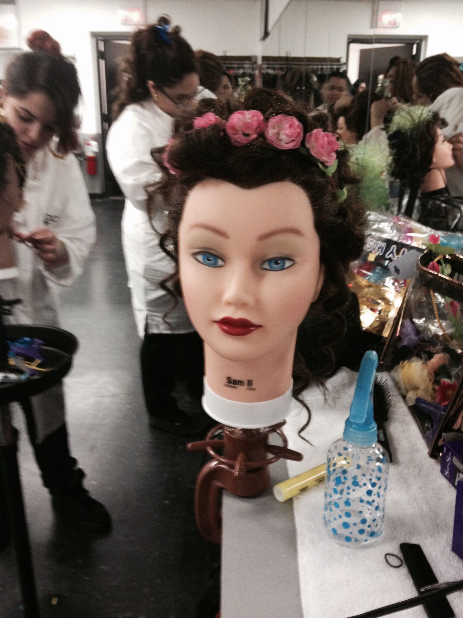 Front view Cosmetology school, Cosmetology, Crown jewelry