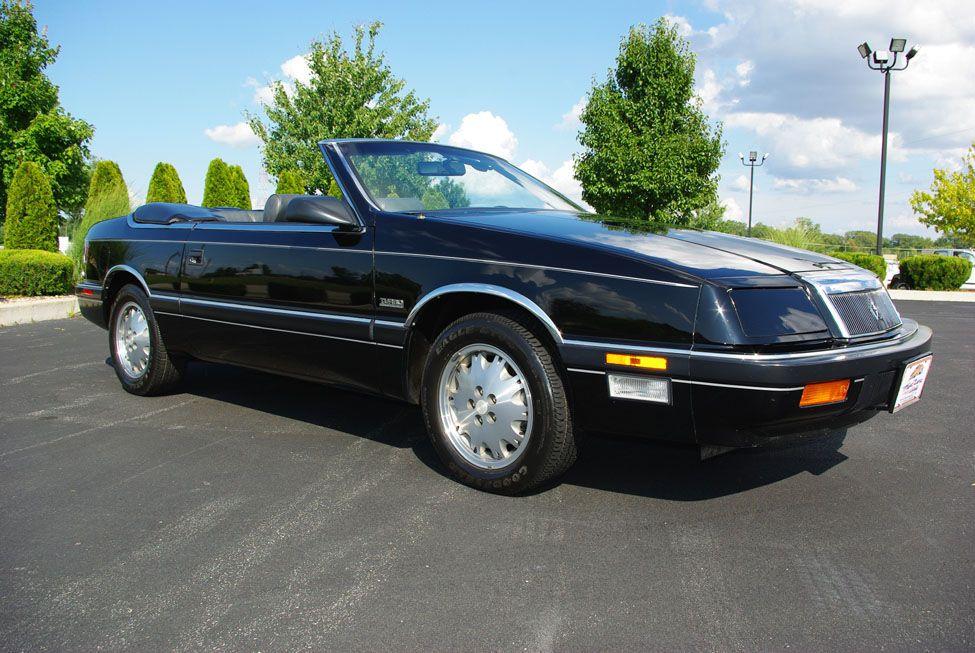 1988 Chrysler LeBaron Convertible at Fast Lane Classic