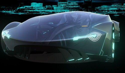 Futuristic Vehicle, Tremor Sci-Fi Car By Niklas Wejedal