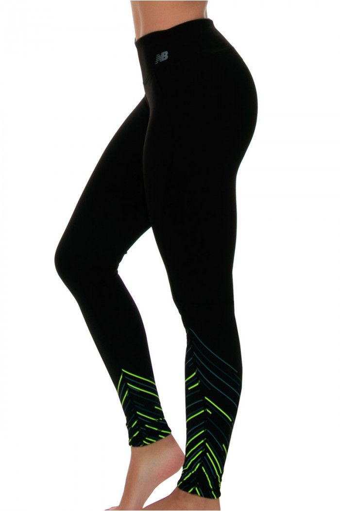 31eaa4800f7f2 Workout Clothes I New Balance Lime Glo Performance Tight : WP61145 ...
