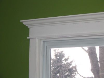 how to make moulding for an ellipse window