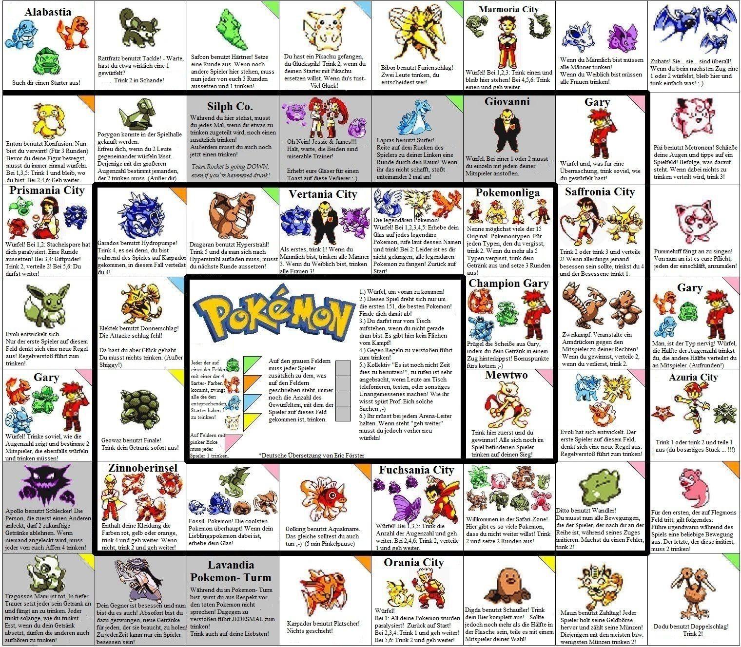 Pokemon Trinkspiel