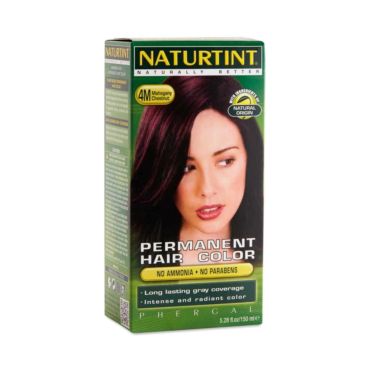 Naturtint Permanent Hair Color Mahogany Chestnut 4m One Box