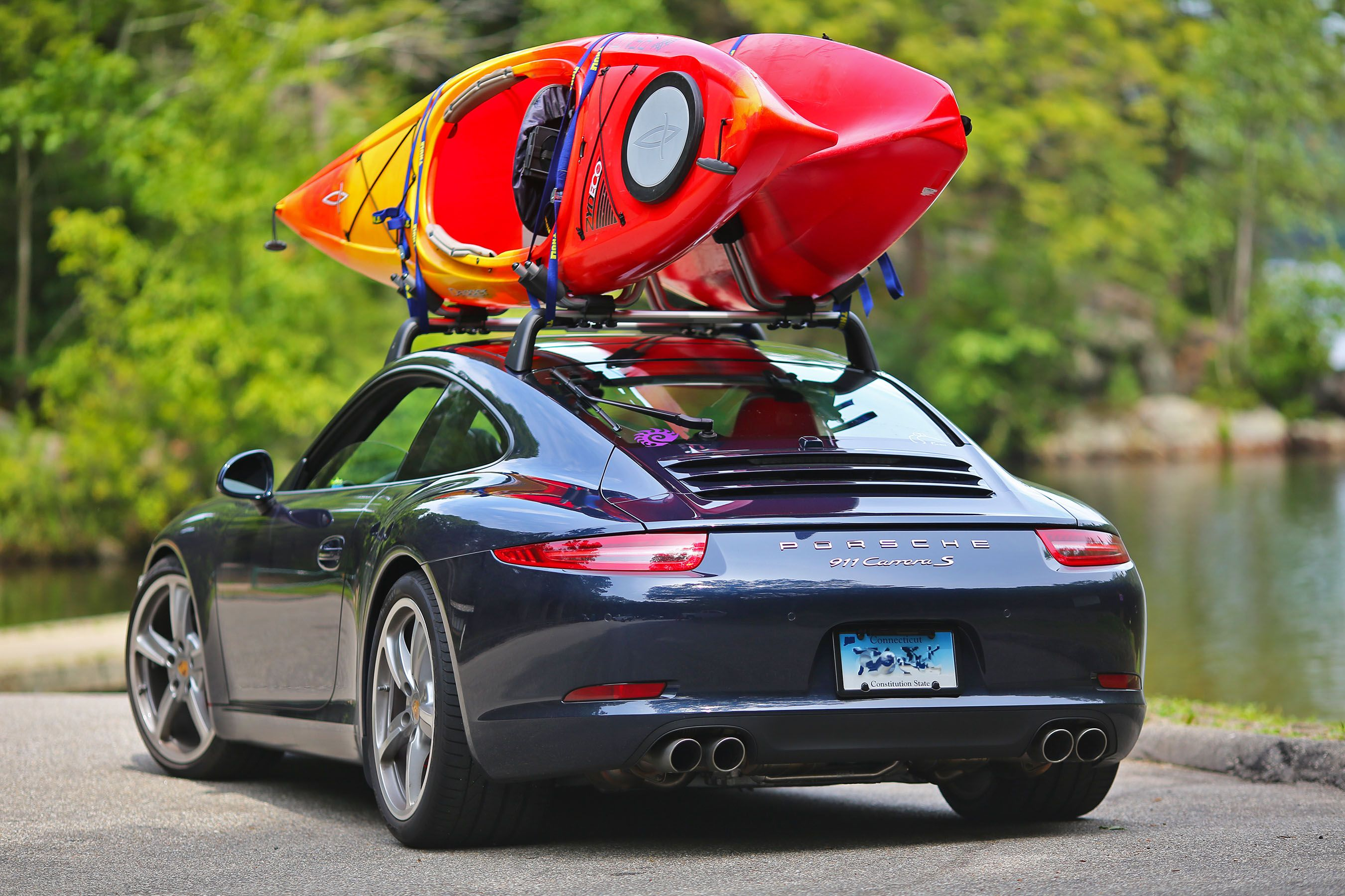 Roof Transport System Allowing Your 991 To Be The Minivan It Always Wanted To Be Mini Van Bike Transporting Toy Car