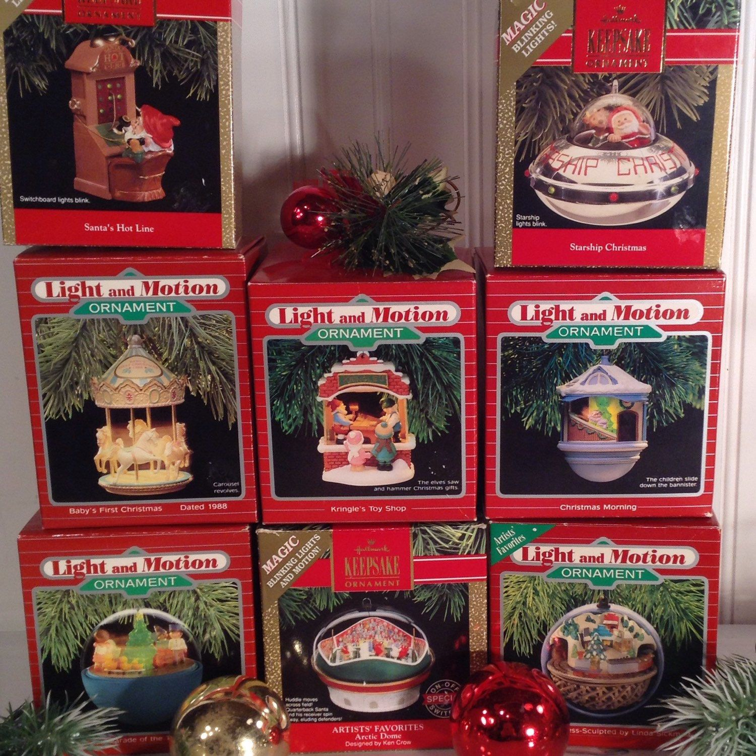 Retired Vintage Hallmark Keepsake ornaments from the 80 s 90 s