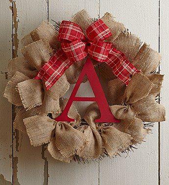 """1-800-Flowers - Personalized Burlap Wreath 18"""" - Personalized Burlap Wreath-... 1-800-Flowers http://www.amazon.com/dp/B00OVEYA6Q/ref=cm_sw_r_pi_dp_ECUpvb18YQMJG"""