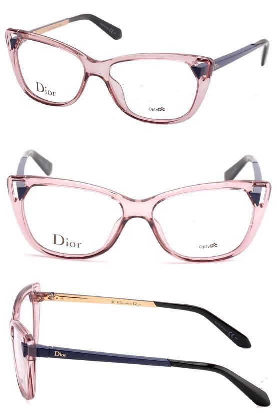 cc156dcbcc5  350 - Christian Dior Women s Eyewear Frames CD 3286 53mm Transp Pink Matte  Blue 6ML  apparel  eyewear  max  prescription  frames  shops  women   departments