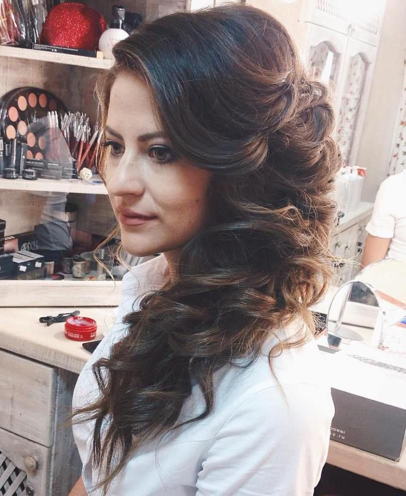 45 side hairstyles for prom to please any taste | hairstyles