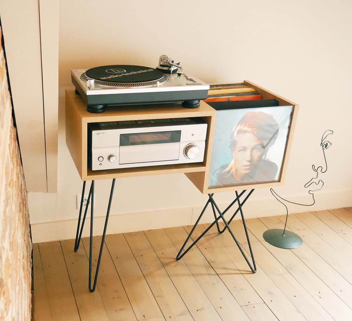 platine vinyle meuble vinyle