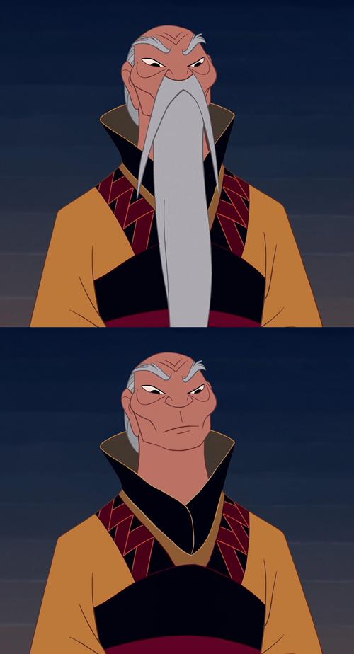 I personaggi della disney senza la barba riflessioni disney e