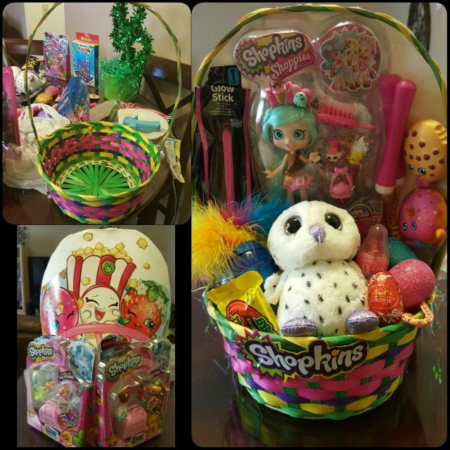 Shopkins easter basket my creations pinterest shopkins shopkins easter basket negle Choice Image