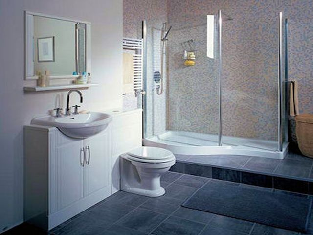 20 Refined Gray Bathroom Ideas Design And Remodel Pictures  Small Brilliant Renovation Small Bathroom Inspiration