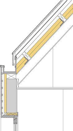 Image Result For Gutter Detail Standing Seam Zinc Крыша