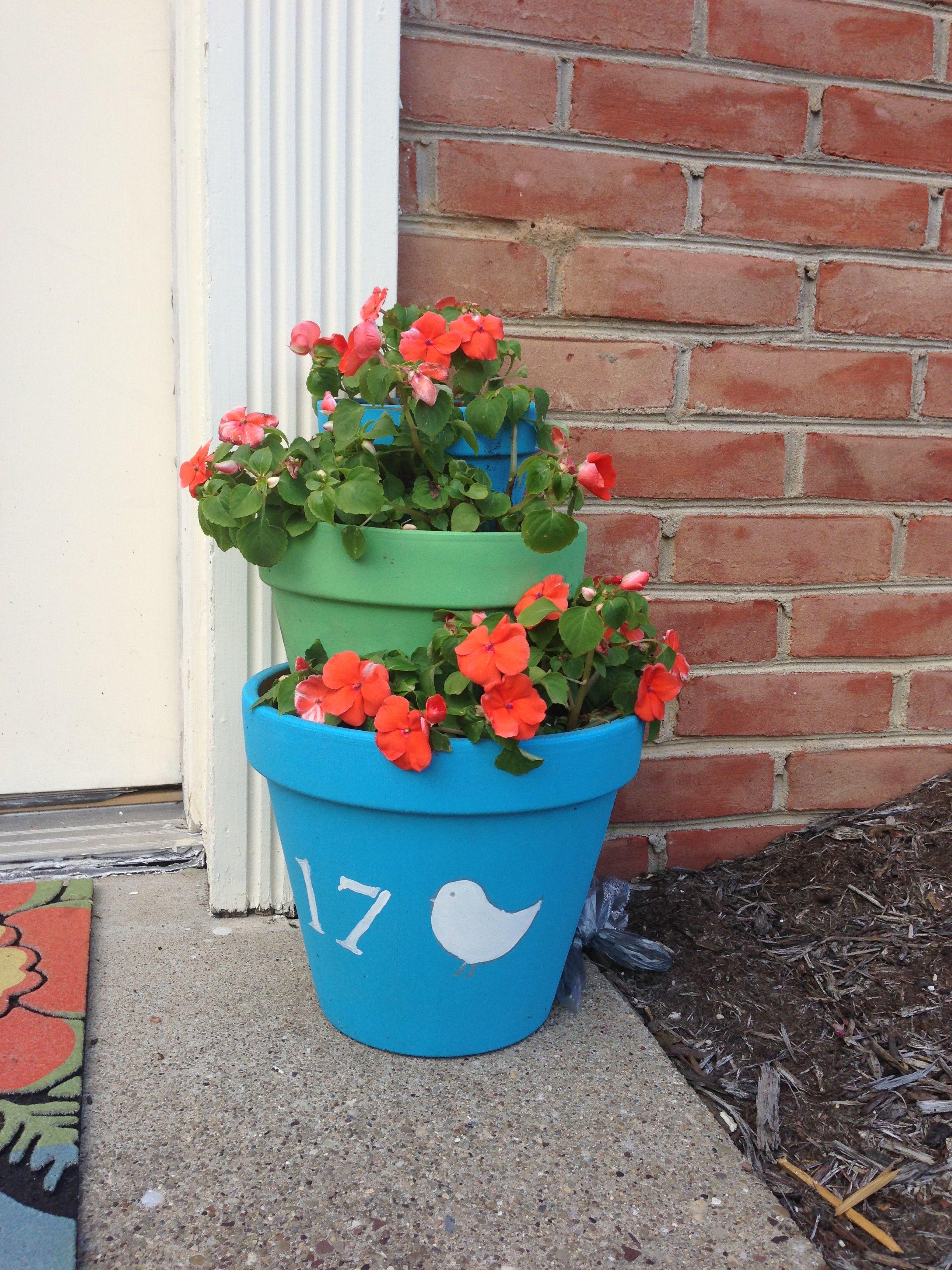 Flower pot Garden design, Flower pots