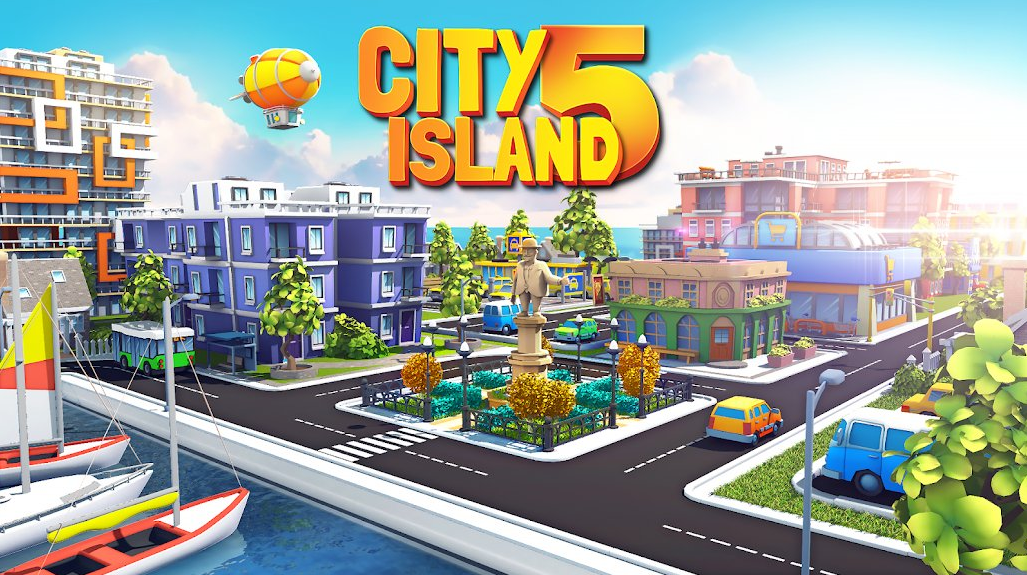City Island 5 Tycoon Sim Game Hack Mod Gold and Cash Unlimited