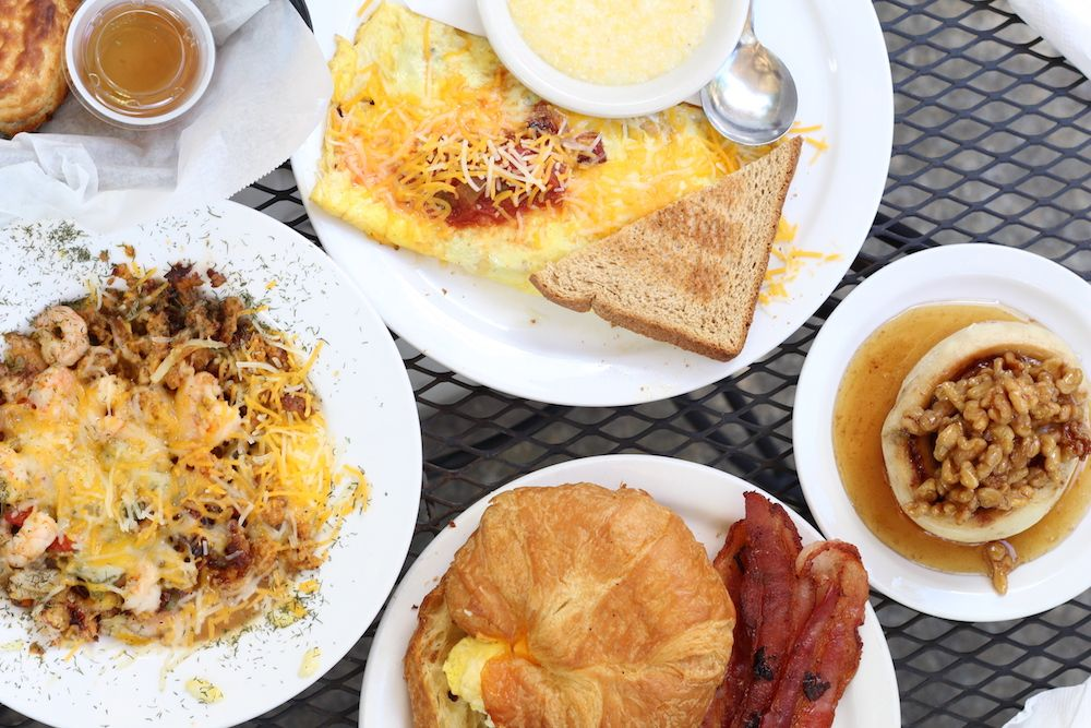 A True Southern Breakfast For Local Low Country Coastal Town Exploring Beaufort Sc