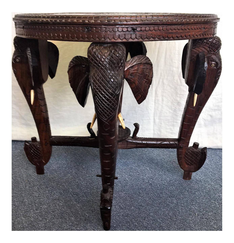 Bohemian Raj Elephant Table