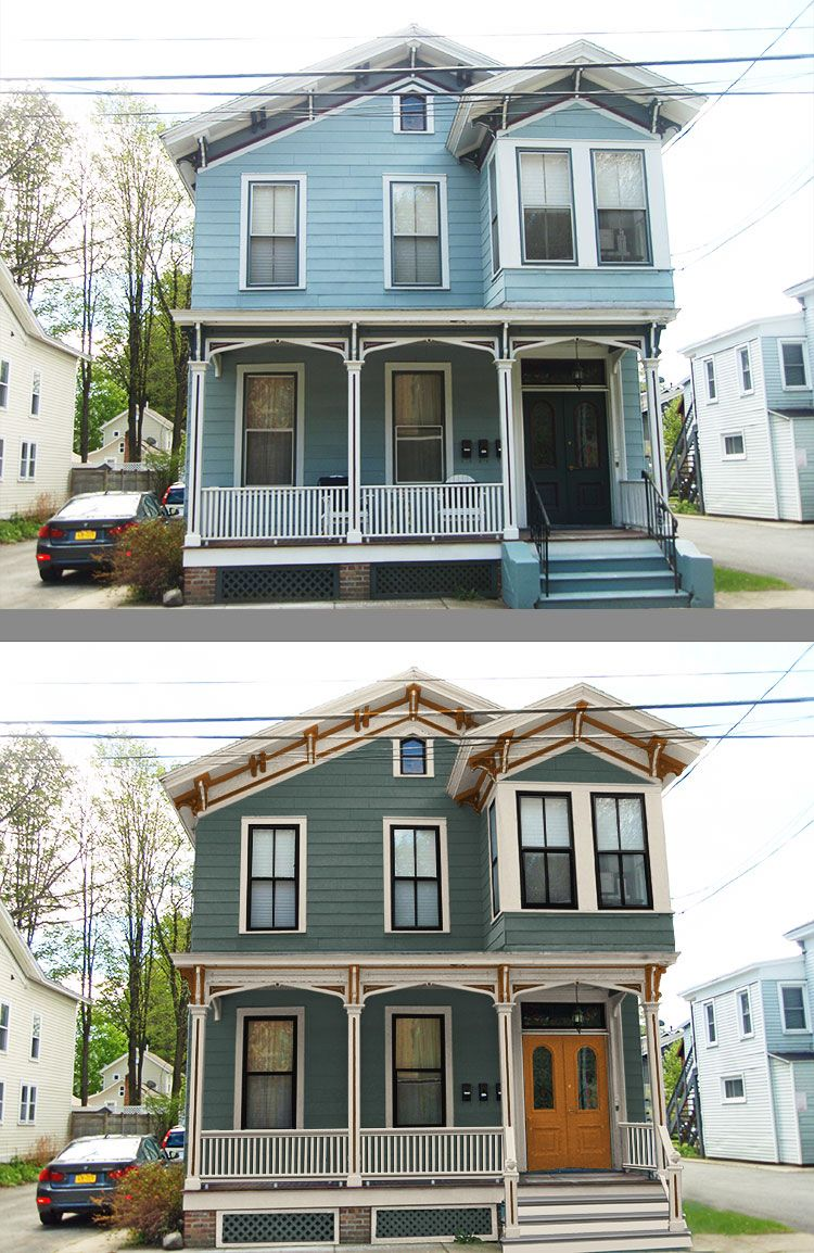 Old House Makeover Portfolio House Design And Restoration Victorian Homes Exterior Victorian House Colors House Exterior