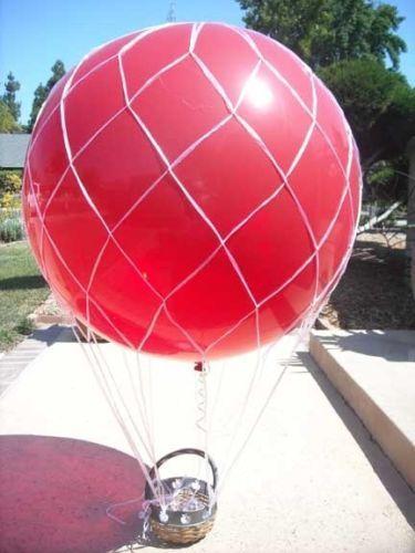 "36/"" Hot Air Balloon Net Latex Wedding Balloons Birthday Party Supplies"