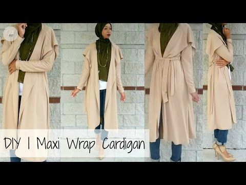 DIY | How to Make a Cardigan | PATTERN INCLUDED - YouTube | diy ...