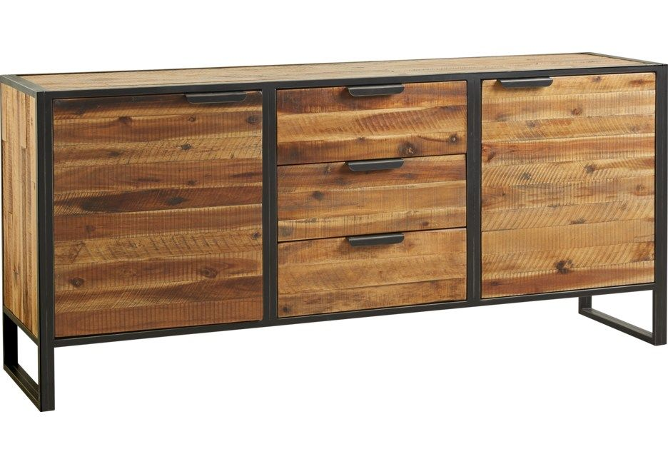 Archer Place Brown Sideboard Dining Room Buffet Sideboard Sideboard Buffet