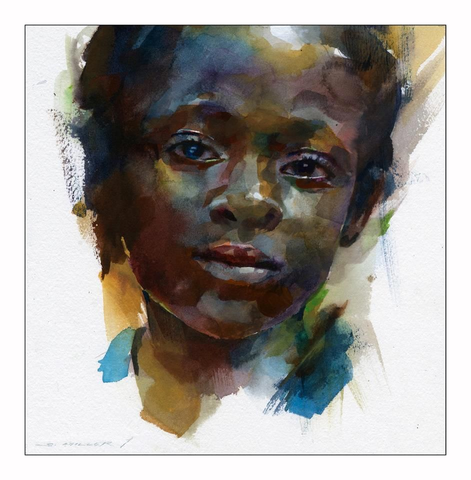 Portraits Image By Susan Grooms Watercolor Portrait Painting