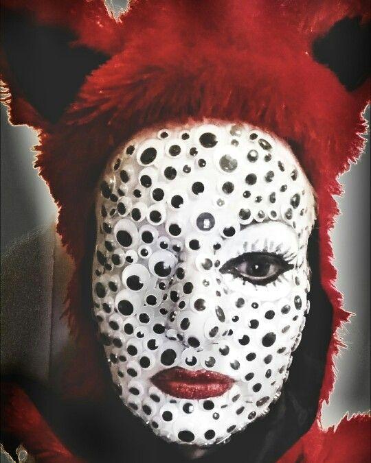 Googly Eyes Halloween Face Halloween Face Makeup Face