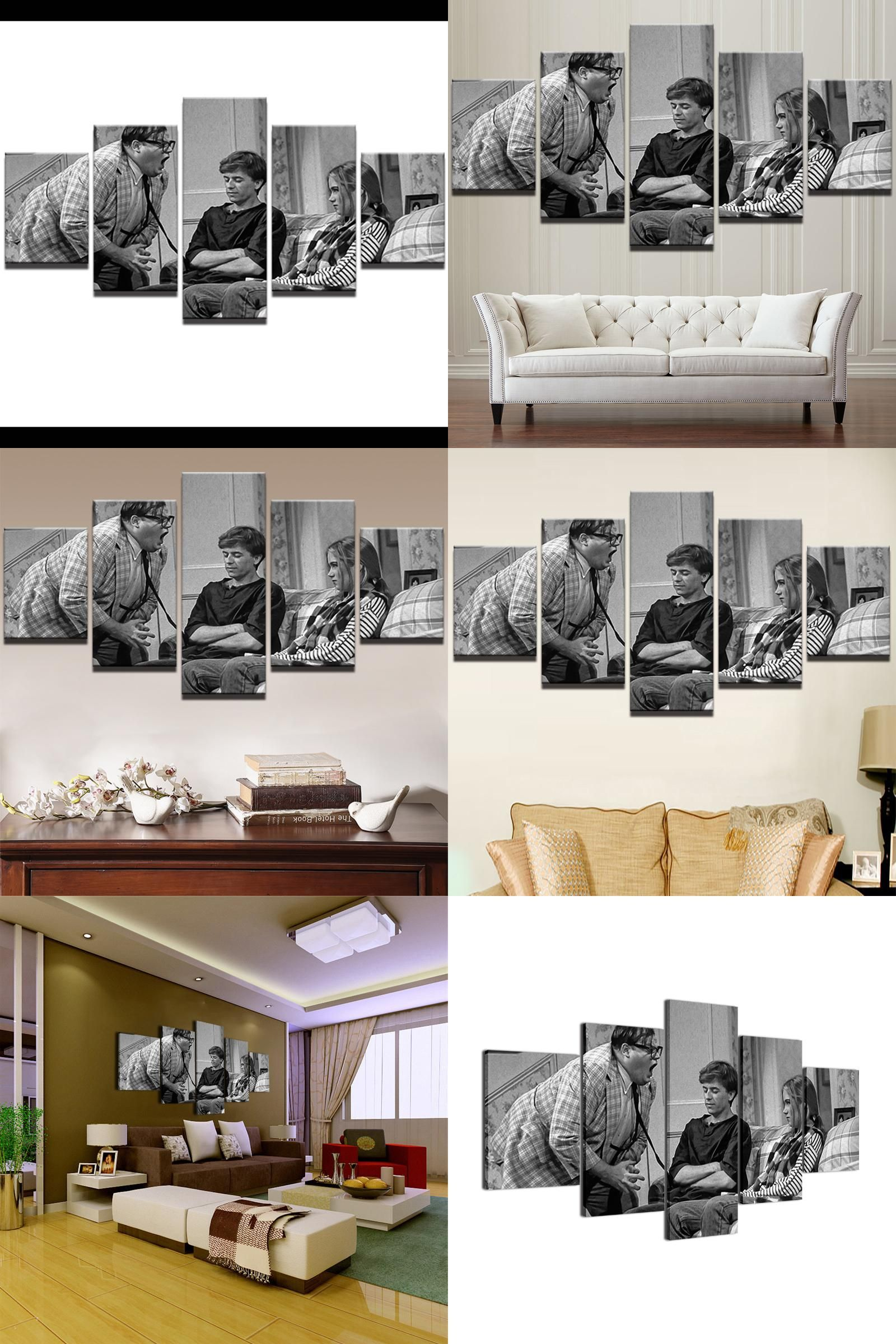Visit to buy modern canvas oil painting home decor retro wall art