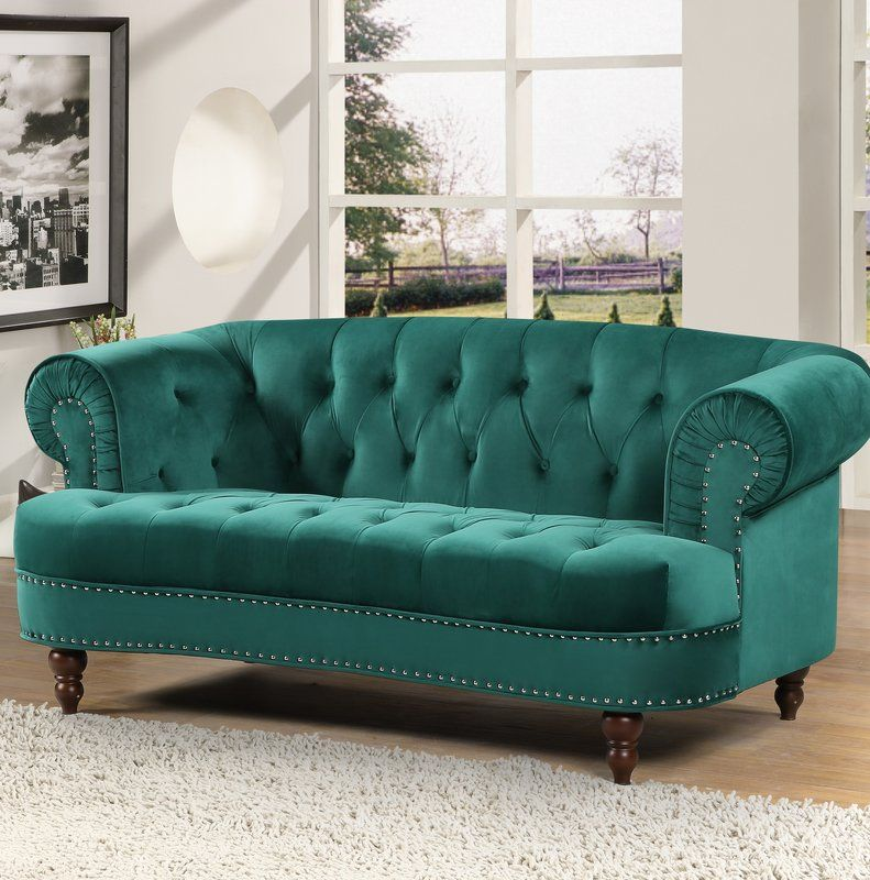 Best Vinci Chesterfield Loveseat Love Seat Small Living Room 400 x 300