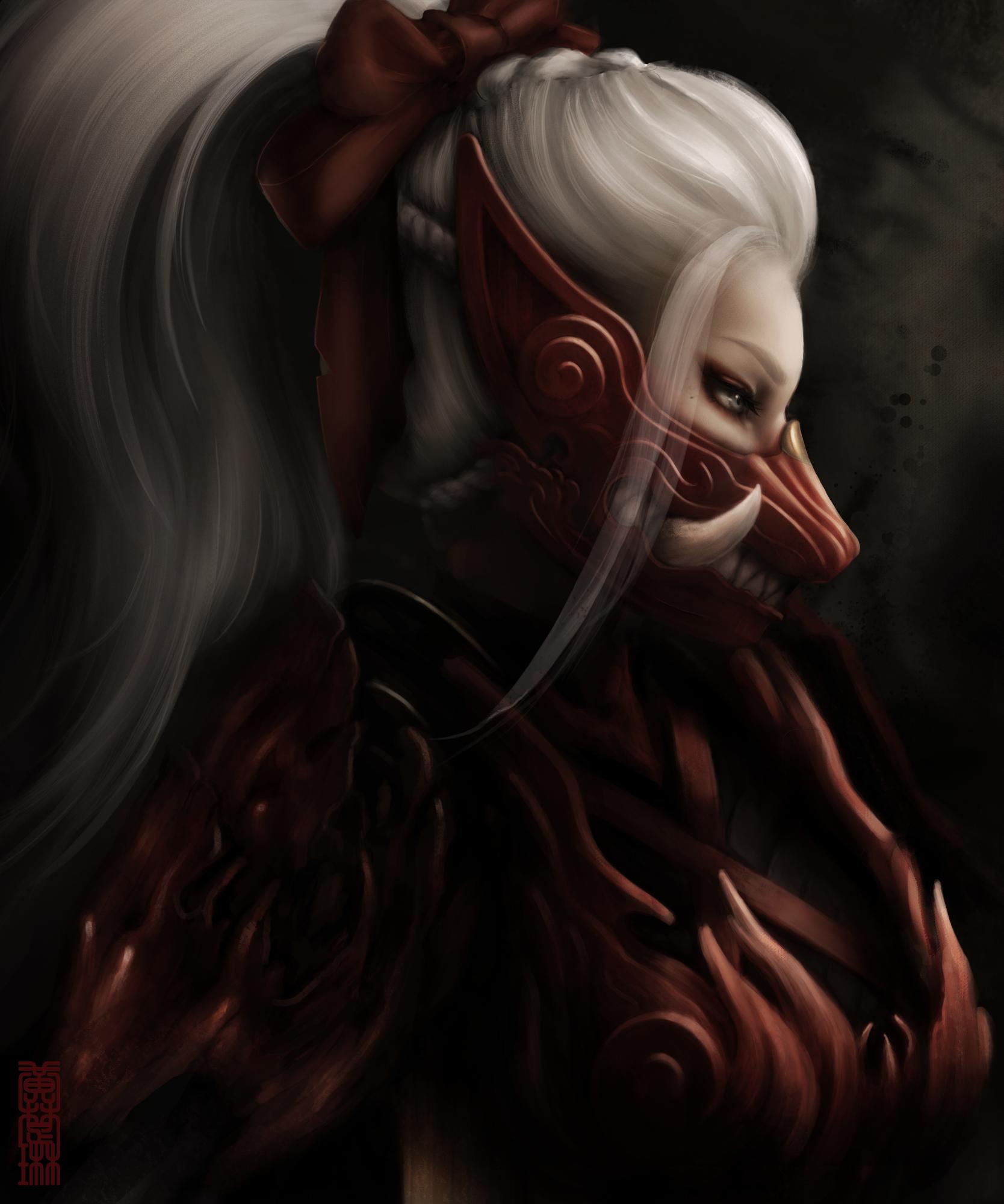 Yet another Odogaron armor fan art, by me! MonsterHunter