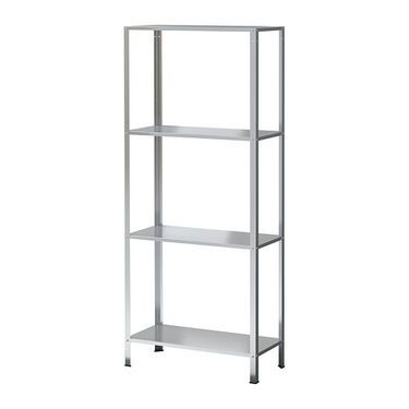 ikea hyllis shelving unit suitable for both indoor and outdoor use