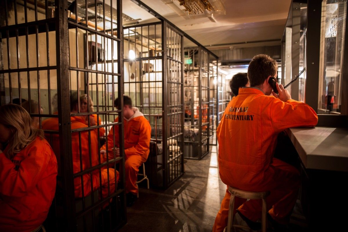 Alcotraz London S First Prison Cocktail Bar Fguk Magazine London Photos Prison London Attractions