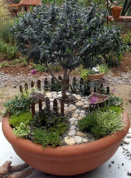 ideas de jardines miniatura - Jardines En Miniatura