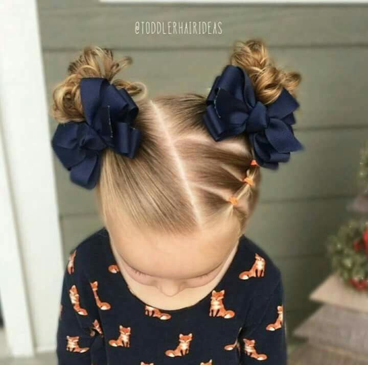 Cute Little Girls Hairstyles Hair Pinterest Girl Hairstyles