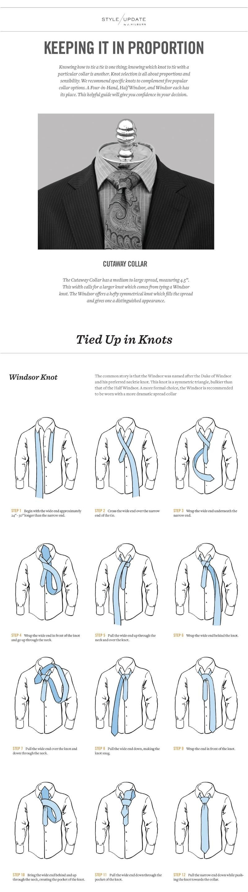 Men's Basics: Knowing how to tie a tie is one thing; knowing which knot