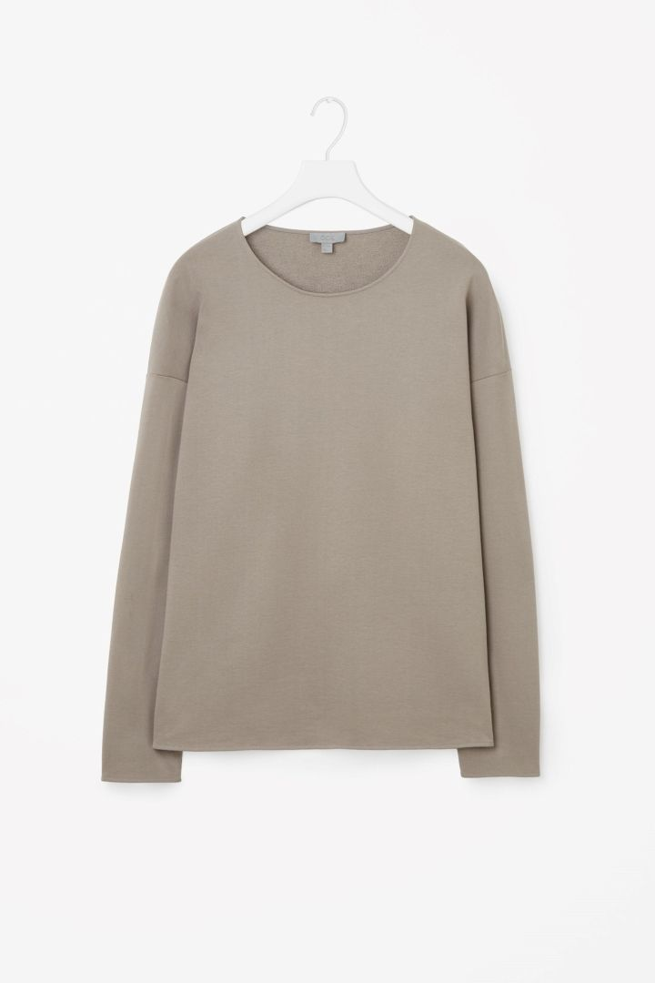 COS | Rounded oversized sweatshirt