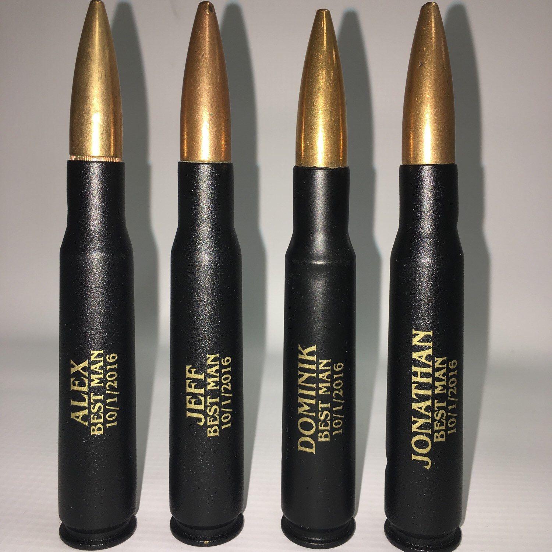 Best man gift 50 caliber bullets bullet bottle openers