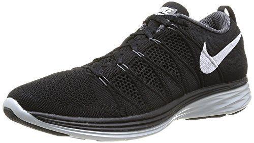 Nike Flyknit Lunar2 Mens Running Shoes 620465-011 Black 8 M US Nike http: