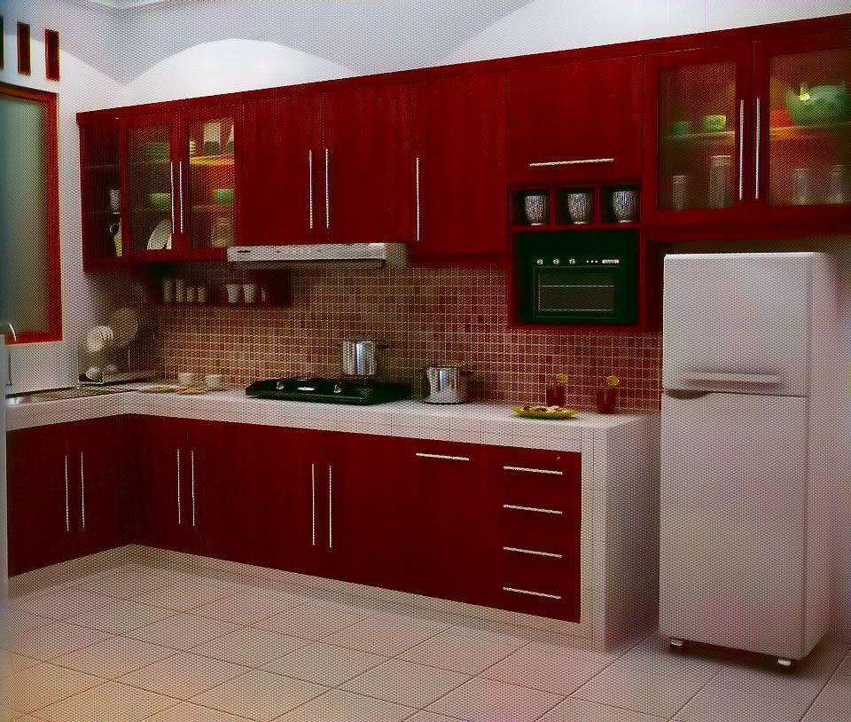 Kitchen Set Kayu Mahoni Berkualitas Dari Gendis Furniture Yang
