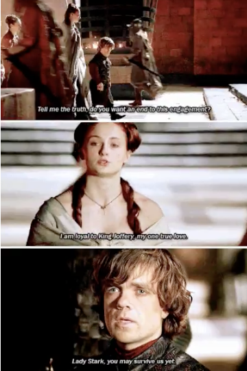 """When she refused to give in: 