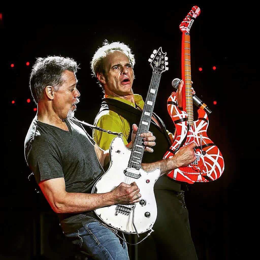Eddie Van Halen And David Lee Roth 2015 With Images Eddie Van Halen Van Halen Van Halen 5150